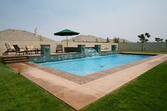 Custom Pool Gallery – Paradise Pools and Spas – Bakersfield