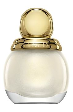 Dior Diorific Vernis High Shine Nail Lacquer, Holiday Look: Golden Shock Beauty & Cosmetics - Bloomingdale's Dior Nail Polish, Dior Nails, Nail Polish Colors, Nail Polishes, Dior Beauty, Beauty Makeup, Dior Makeup, Nude Makeup, Christian Dior