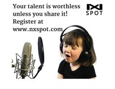 Your Talent is worthless until you share it. So Register now at www.nxspot.com  #ShowYourTalent #musictalent #unique #RealestEra #nxspot #Musicstar #musicnews #newmusic #album #beastar #singingstar #talentmanagement #bornstar #promotingtalent #musician #musicismylife #songcover #connectwithfans #songwriter #music #rap #instamusic #musicvideo
