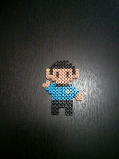 Mr. Spock - Star Trek hama perler beads
