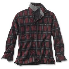 Just found this Mens Wool Plaid Shirt Jacket - White River Wool Shirt Jacket -- Orvis on Orvis.com!