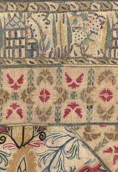 YAT Fabric Art, Linen Fabric, Greek Traditional Dress, Greek Design, Textiles, Needle Book, Ancient Greece, Bohemian Rug, Ottoman