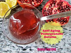 Healing, Anti-Aging Pomegranate Gelatin Treat (Gaps, Paleo, SCD, gluten free) - Grass Fed Girl