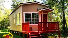 The Country Park Model Tiny Home by Pint Sized Tiny Homes