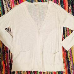Cream Gap Cardigan! Super comfortable cream cardigan from Gap! Great condition! GAP Sweaters Cardigans