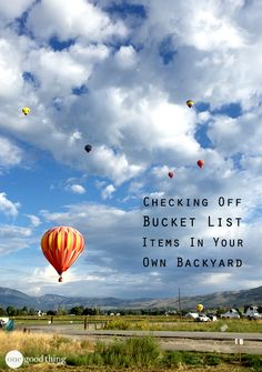 Bucket lists aren't just about dramatic, giant gestures—they're also about everyday experiences you can have right in your own community! @VisitOgden #visitogden