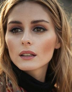 Olivia Palermo and possibly my favorite eye makeup look ever.
