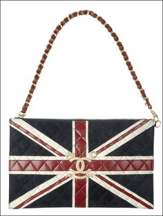 I wasn't hallucinating. The limited edition (last year) Chanel Union Jack bag.