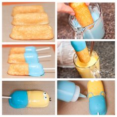 Kind of weird, but I could possibly use actual lady fingers instead.  My son would love this version.