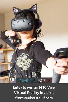 Enter to win an HTC Vive from MakeUseOf.com