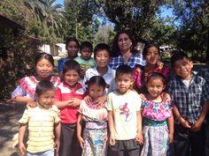 Kids learn @ Las Nubes Daycarecenter