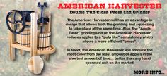Cider Press | Happy Valley Ranch | Browse Our Selection Today!