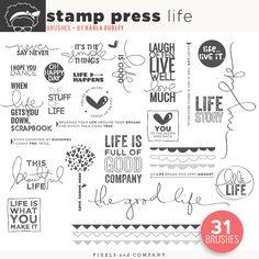 Stamp Press | Life