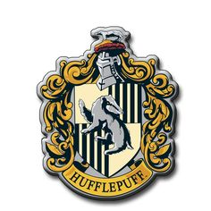 Amazon.com: Harry Potter Hufflepuff Crest Magnet: Refrigerator Magnets: Kitchen & Dining