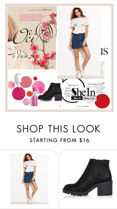 """""""shein"""" by lena123-1 ❤ liked on Polyvore featuring River Island and Clinique"""