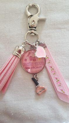 Porte clef je suis une nounou qui d chire - Cle ou clef difference ...