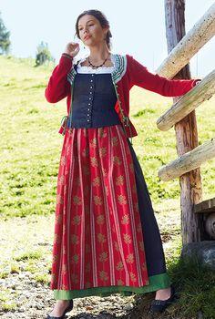 Dirndl - Gössl She looks like my granddaughter! Fashion Terms, Dirndl Dress, Beautiful Costumes, Folk Fashion, Special Dresses, Folk Costume, Mode Style, Traditional Dresses, Vestidos