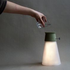 Lamp powered by water #DeskLamp #ConceptualLamp #DesignLamp @idlights