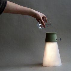 Lamp powered by water #DeskLamp #ConceptualLamp #DesignLamp @idlights