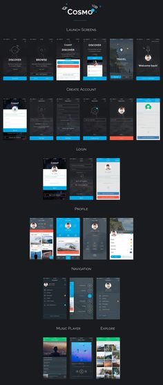 UI8 — Products — Cosmo Mobile UI Kit
