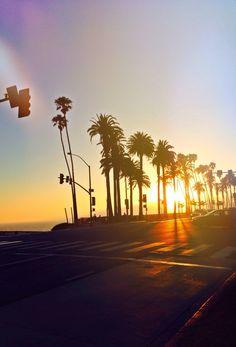 Santa Monica  sunsets #california