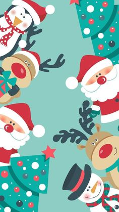 christmas fondos christmas fondos christmas fondos Immagine di christmas, wallpaper, and background fototapety tapety — SALE – 21 Merry Preppy Christmas iPhone Wallpapers