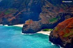 Na Pali Coast, #Kauai, #Hawaii | Funjet Vacations This is a place you should definitely visit at least once in your life.