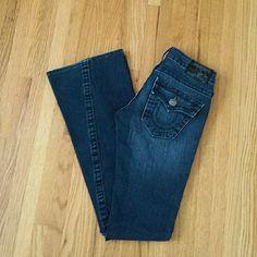 True Religion Jeans Size 23. Inseam 33. True Religion Jeans Flare & Wide Leg