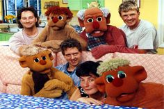 'You and Me' had been a firm favourite of the BBC's schools output for 9 years with 'Cosmo & Dibbs' as the only puppet characters.  For its final two seasons, two new characters were added : 'Spike' the youngest of the family... 30 episodes shot at BBC Television Centre  and another 30 at Batersea Studios.