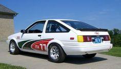 Corolla Ae86, Toyota Corolla, Tractors, Racing, Cars, Japanese, Running, Japanese Language, Auto Racing