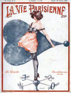 hoodoothatvoodoo:    La Vie Parisienne 1923