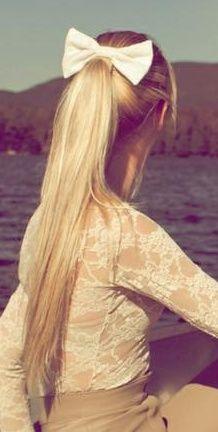 Long ponytail <3