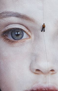 The Last Child by Gottfried Helnwein.  Installation in Waterford, Ireland. For the record: it's not a photo- it's a painting.