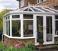 conservatory around bay window - Google Search