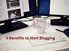 There are many benefits of blogging for websites - SEO improvement, traffic boost, etc.