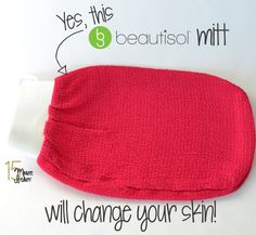 Beautisol's Hammam Deep Exfoliating Mitt Review: A Daily Scrub will Give You Baby Soft Skin via @15 Minute Beauty