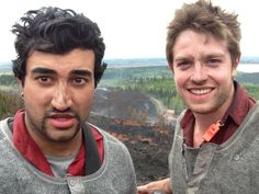 Taken from the top of pilot mountain. Myself and Devan after fighting our first fire of the year. This fire was 5 hectors and burned less then 10km from the Prince George city center