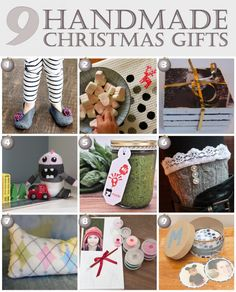 9 Handmade Christmas Gifts