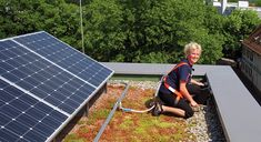 Green Roof and Solar Energy