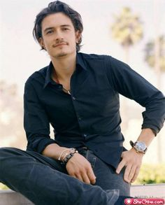 Orlando Bloom, male actor, celeb, gorgeous, sexy, hot, portrait, photo
