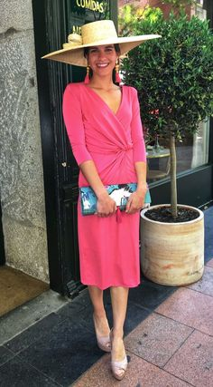 Vestido nudo coral Dress Outfits, Dresses, Fashion Beauty, Casual, Wedding, Style, Coral Dress, Templates, Outfits
