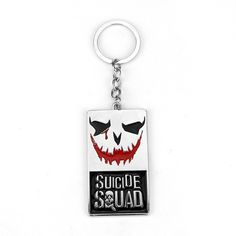 Suicide Squad The Joker Classic Logo Keychain