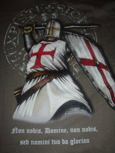 """""""When darkness rapes the land, the Seraphs shall purify the Templars and lead the sacred swords to victory"""" - Ancient Prophecy of the Knights Templar +++nnDnn+++ I.H.S.V."""
