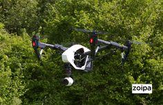 Zoipa flight testing their new DJI Inspire.  www.zoipa.co.uk