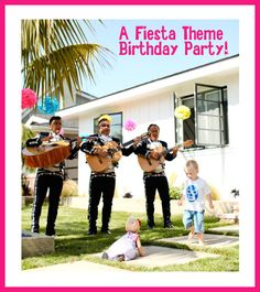 If it's Diego you want, then it's a Diego FIESTA you will get! Mexican Fiesta Theme Kids Birthday Party