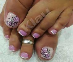 Toe Nail Designs, Nails Design, Toe Nails, Hair And Nails, Make Up, Nail Art, Beauty, Finger Nails, Polish Nails