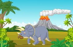 Cartoon dinosaurs with natural landscape vector 05 - https://gooloc.com/cartoon-dinosaurs-with-natural-landscape-vector-05/?utm_source=PN&utm_medium=gooloc77%40gmail.com&utm_campaign=SNAP%2Bfrom%2BGooLoc