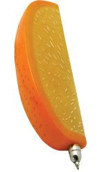 Orange slice pen that can be custom imprinted for your business or organization