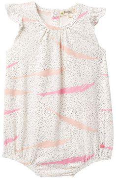 b0dfbf0c89e0 Bonnie Mob Printed Ruffle Sleeve Bodysuit (Baby Girls) #babygirl, #romper,