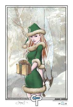 Aspen Comics 2015 Holiday Limited Print